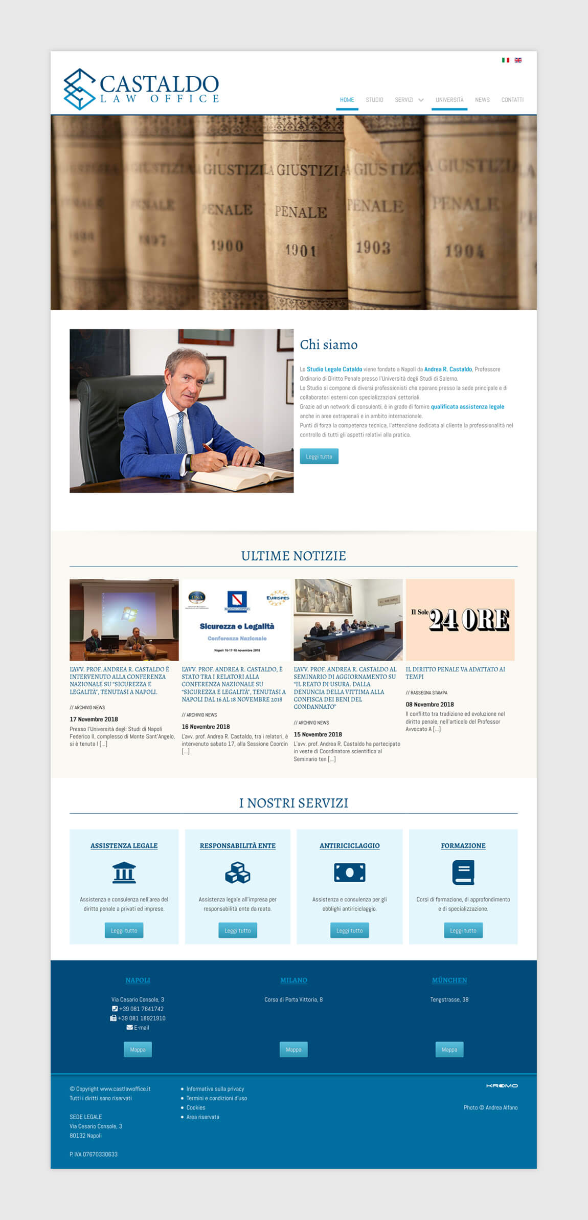 Castaldo Law Office - Home Page